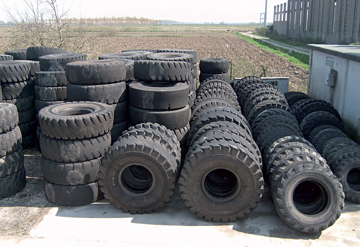 Agricultural tyre casings